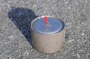 MSR Titan titanium pot