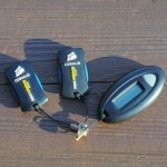 2x Corsair Voyager Mini USB stick + code generator